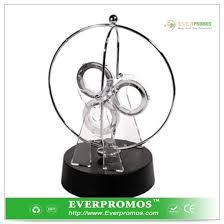 free circle perpetual motion desk toy of kinetic energy sculpture
