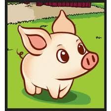 draw simple pig step step farm animals animal