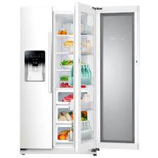 Showcase Design Samsung Rh25h5611ww 24 7 Cu Ft Side By Side Refrigerator