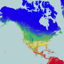 Weather Map North America by Temperature Maps For North America Map Roundtripticket Me