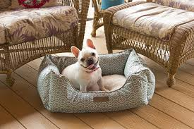 dog cat pet beds soft fleece orthopedic bolster nest sofa bed