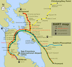 Bart Stations Map by File Bart Map Svg Wikimedia Commons
