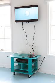 how to hide cords on a wall mounted tv in my own style