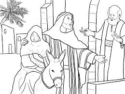 mary joseph coloring pages kids coloring