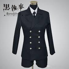 Halloween Butler Costume Anime Black Butler Kuroshitsuji Ciel Phantomhive Cosplay Halloween