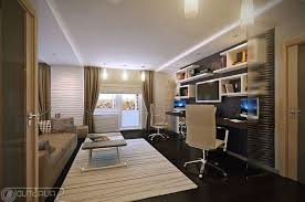 Office  Deluxe Luxury Home Office Ideas With Brown Cabinets And - Luxury home office design