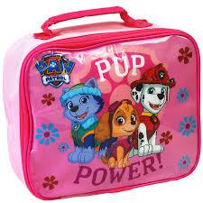 paw patrol kids travel trolley luggage backpack bag