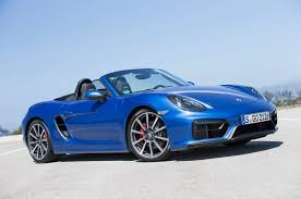 red porsche boxster 2015 porsche to add flat four engine 718 badging to boxster cayman