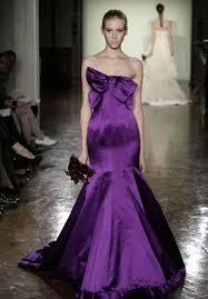 Wedding Dresses Vera Wang 2010 Art And Pre Wedding Vera Wang Mermaid Purple Wedding Dresses