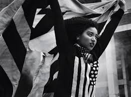 Black And White American Flag Bandana Amandla Stenberg Is The Voice Of The Black Youth Saint Heron