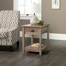 sauder coffee and end tables amazon com sauder county line end table in salt oak kitchen dining