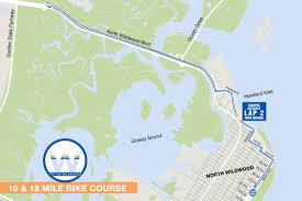 Map Of Wildwood Nj Tri The Wildwoods Triathlon