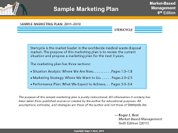 sample marketing plan marketing plan executive summary sample