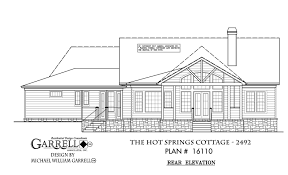 springs cottage 2492 house plans by garrell associates inc
