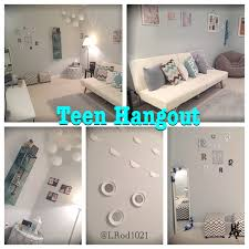 teen hangout room a bright and cozy teen hangout for my girls to