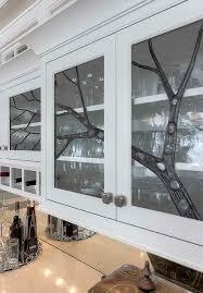glass door kitchen cabinet decor leaded glass custom leaded glass inserts kuhl doors llc