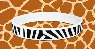 silicone wrist bracelet images Add animal print to your next silicone wristband jpg