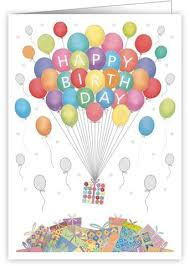 birthday balloons for him birthday cards collection karenza paperie