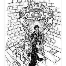 harry potter monster coloring pages hellokids