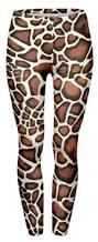 Giraffe Print Leggings 80s Leggings Simplyeighties Com