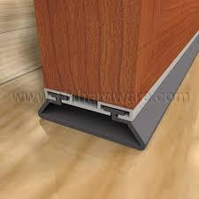 Door Bottom Sweeps For Exterior Doors High Quality Door Sweeps For Overhead Garage Doors Smoke