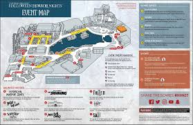 halloween horror nights 26 merchandise hhn map