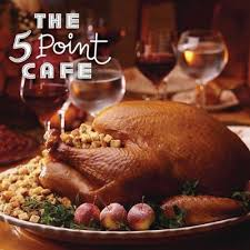 5 point cafe thanksgiving feast at 5 point cafe in seattle wa on