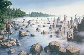 surreal optical illusion paintings by rob gonsalves 18