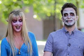 Blind Date From Hell Date From Hell Do Looks Matter If You Date Dressed As A Monster