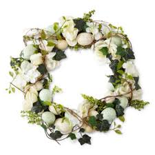 egg wreath jcpenney home floral egg wreath jcpenney