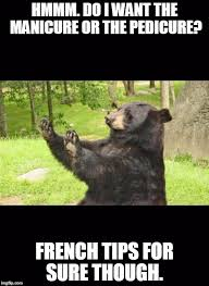 Patient Bear Meme - how about no bear meme generator imgflip