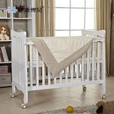 Child Crib Bed Buy Aisi Bo Child Crib European Tasteless Green Paint Wood Crib