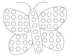 dot art coloring pages coloring page