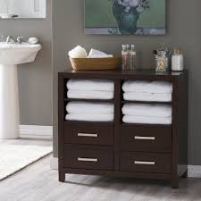 Freestanding Bathroom Furniture White Bathrooms Design Towel Storage Units For Bathrooms White