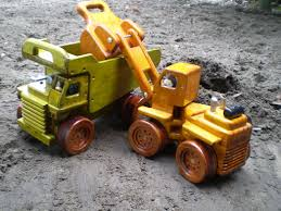 Homemade Wooden Toy Trucks by Enjoy Making Wooden Toys