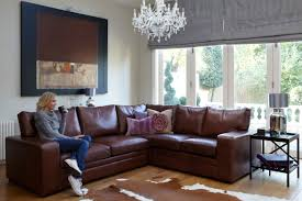 Living Room Ideas With Light Brown Sofas Light Brown Faux Leather Couch With Reclining Combined With Small