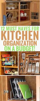 kitchen organization ideas budget 12 must products for kitchen organization on a budget
