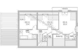 plan maison etage 4 chambres gratuit plan maison etage 3 chambres gratuit 4 exemple plan maison plain