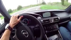 lexus is f price in india 2014 lexus is 350 f sport wr tv pov test drive youtube