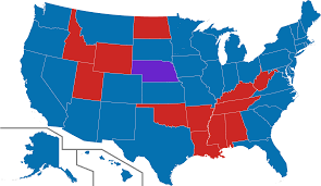 Electoral College Maps 2016 Projections Amp Predictions by Map Of 2016 Us Election
