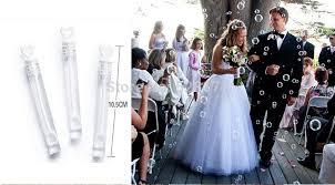 wedding bubbles 48pcs lot and groom wedding bottles heart design