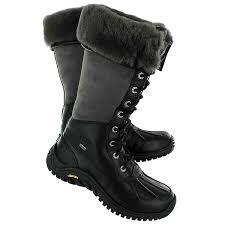 ugg s adirondack boot ii black grey ugg adirondack womens boots 2017