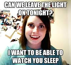The Overly Attached Girlfriend Meme - all about the overly attached girlfriend internet meme