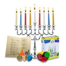 chanukkah candles hanukkah menorah complete set menorah candles