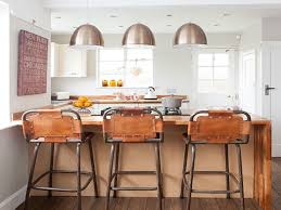 how tall is a kitchen island bar stools bar stools at breakfast in modern country style