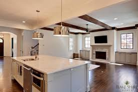 open floor plans with large kitchens robert porter pendant transitional kitchen shaw