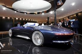 luxury mercedes maybach vision mercedes maybach 6 cabriolet is a staple of luxury at iaa