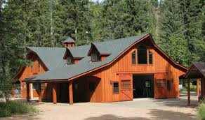 Floor Plans For Barn Homes Horse Barn With Apartment Plans The Great Western Style Barn