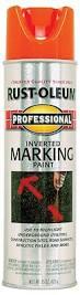 amazon com rust oleum 2554 professional inverted marking spray