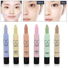 color concealer makeup 6 colors concealer stick color correction highlighter for